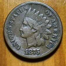 1875 Indian Head Cent - Better Date (NO Reserve)