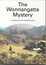 THE WONNANGATTA MYSTERY by KEITH LEYDON and MICHAEL RAY