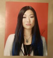 JENNA USHKOWITZ SIGNED 8X10 PHOTO GLEE W/COA+PROOF RARE WOW