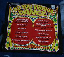 DO YOU WANNA DANCE ORG HITS USA 1956-64 UK LP PHILIPS 6336 250,