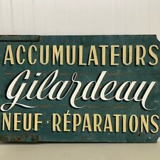 Stunning French hand painted Shop Advertising Sign circa 1900