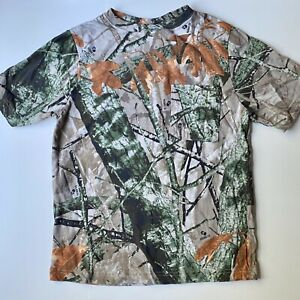 Outfitters Ridge Camo Youth Xl 16-18 Pocket Camouflage 3D Fusion Hunting T-Shirt