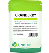 CRANBERRY Juice 100 compresse 5000mg sano vescica vie urinarie SUGAR FREE