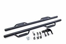07-18 Toyota Tundra Double Cab Hoop Step Bars Nerf Bars Running Board Texture BL