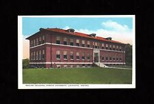 >Old 1930-50's Purdue University Postcard *Poultry Building* Lafayette, Indiana