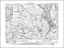 Horton, Rudyard, old map Staffordshire 1926: 7NE repro