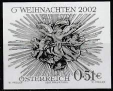 Oostenrijk postfris 2002 MNH 2401 black (uit Jaargang) - Kerstmis / Christmas