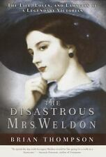 The Disastrous Mrs. Weldon By Brian Thompson Used Book Hardback W/Dust Cover