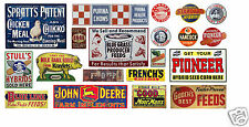 HO Scale Feed & Seed Building / Structure Decals #7