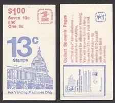 STATI UNITI - Libretto - 1977 - Copertina Campidoglio - Libretto da 1 $