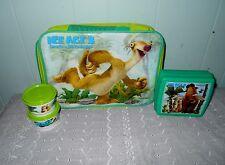 Tupperware Eiszeit 3 Dawn of the Dinosaurier Lunch Set ~ NEU