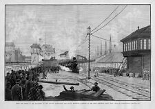 BURLINGTON AND QUINCY RAILROAD, CHICAGO ENGINEER STRIKE