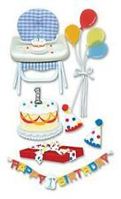 FIRST BIRTHDAY BABY High Chair Stickers JOLEES BOUTIQUE