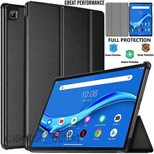 "For Lenovo Tab M10 (2020) 10.1"" Leather Smart Case Hard Shell Flip Stand Cover"