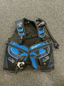 Sherwood Avid CQR3 BCD Scuba Diving Buoyancy - Blue & Black - NEW