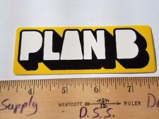 VTG 90's PLAN B RODNEY MULLEN DANNY WAY CHRIS COLE NOS SKATEBOARD DECK STICKER !