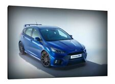 Ford Focus RS - 30x20 Inch Canvas - Framed Picture Poster Print