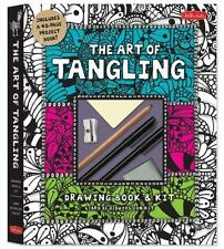 The Art of Tangling Drawing Book & Kit: Inspiring drawings, designs & ideas for