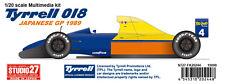 Studio27 FK20244 1:20 Tyrrell 018 Japan GP Multimedia Kit