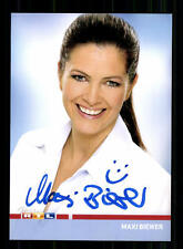 Maxi Biewer RTL Autogrammkarte Original Signiert # BC 84966