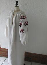 ANTIQUE UKRAINIAN EMBROIDERED DRESS, 19th Century, ethnic costume, traditional
