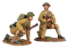 """BRITAINS SOLDIERS WW1 1914 BRITISH INFANTRY """"MOVE UP""""  2 PIECE MILITARY 23073"""