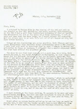 MEXICAN Playwright RODOLFO USIGLI 1950's 12 SIGNED LETTERS Teahouse August Moon
