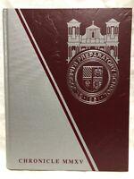 2014-15 St. Joseph Preparatory High School Prep Yearbook Chronicle 2015 MMXV