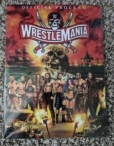 BRAND NEW WWE Wrestlemania 37 Official Program 2021 Book Magazine RARE