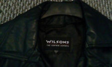 2 Mens  Wilson dress  Leather Jackets Nice conditions
