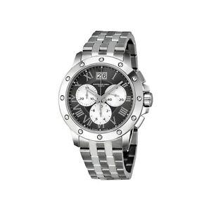 Raymond Weil Watch Tango Chronograph Grey Dial Steel  4899-ST-00668 NEW! 27769
