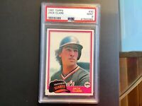 1981 Topps Baseball Card #30 Jack Clark, Giants PSA 9 Mint!