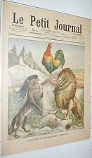 PETIT JOURNAL 1903 ITALIE ANGLETERRE FRANCE VIENS POUPOULE / VATICAN CONCLAVE