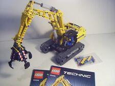 Raupenbagger, Bagger, Excavator, 100% komplett, LEGO®Set 42006 mit OBA