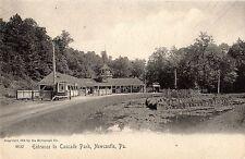 Railroad Train Station Cascade Park in New Castle PA 1905