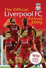Liverpool FC Official 2019 Annual Brand New Football Book