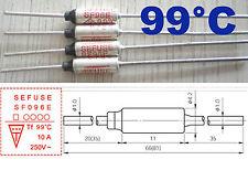 1 Pcs Microtemp Thermal Fuse 99°C 99 Degree TF Cutoff SF96E 10A AC 250V New