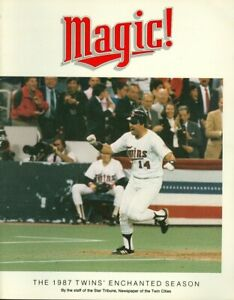 1987 Minnesota Twins Magic!  World Series Season Summary Magazine Star Tribune