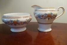Vintage Aynsley DEVONSHIRE patterned  Milk Jug & Open Sugar Bowl -VGC