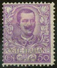 Italia Regno 1901 Sass. 76 Nuovo * 80%