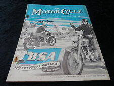 The Motor Cycle Magazine - 1 Oct 1953. BSA, Vincent.