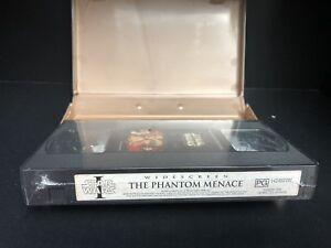 STAR WARS episode I the Phantom Menace VHS NEW Sealed RARE