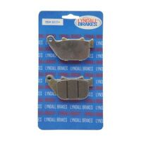 Lyndall LRB Gold Plus Rear Brake Pads for Harley 04-13 XL Sportster 7234-GPlus