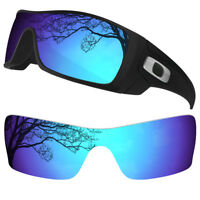 Dynamix Polarized Ice Blue Replacement Lenses for Oakley Batwolf Sunglasses