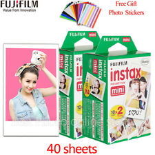 40 Shots Fuji Instax Mini Film for Fujifilm Mini 8 7s & Mini 90, 50 Cameras etc.