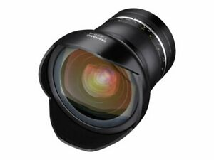 Samyang XP Wide-angle lens 14 mm f/2.4 compatible with Canon EF Samy F1113801102