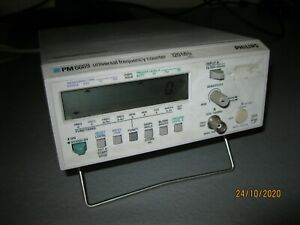 Philips PM6609 Universal Frequency Counter Frequenzzähler 120 MHz