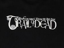 AND YOU WILL KNOW US BY THE TRAIL OF THE DEAD SHIRT WOMENS MEDIUM M BLACK BELLA