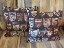 Travel State Navy Throw Pillows Home Decor Sofa Bed Decoration USA Cushion Patio