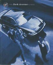 1999 BUICK PARK AVENUE 3800 SERIES II PROSPEKT BROCHURE CATALOGUE ENGLISCH